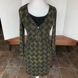 Anthropologie Aryeh green dress
